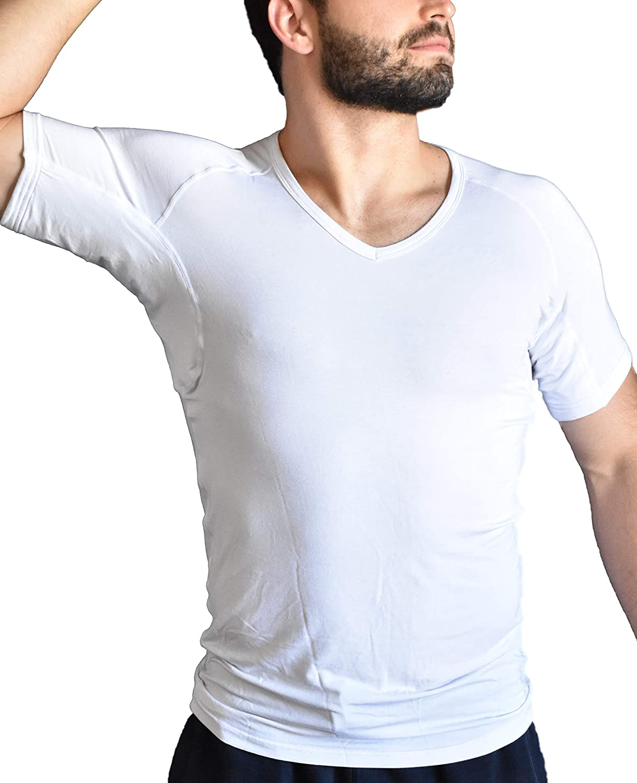 Max 84% OFF Arid Sweat Proof 5 ☆ popular Undershirt for Micro-Modal Men Lenzing Guar