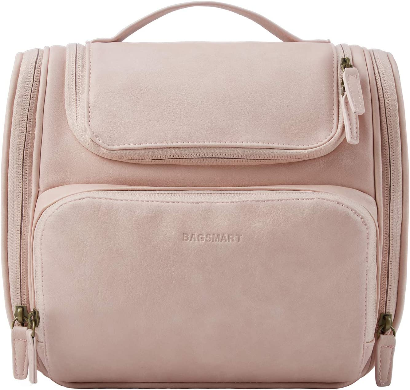 Toiletry Bag BAGSMART Travel Leather Las Vegas Mall Dopp for Kit Women 2021 autumn and winter new Ha with