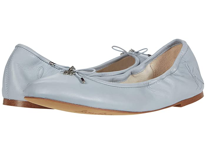 Sam Edelman  Felicia (Cloud Blue Leather) Womens Flat Shoes