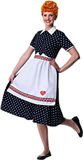 Women's Plus Size I Love Lucy Lucy Fancy Dress Costume 2X