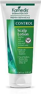 Kamedis Scalp Lotion For Sensitive Scalp & Seborrheic Dermatitis, Dandruff, Dry, Itchy, Scaly, Flaky & Irritated Skin. Paraben-Free, SLS Sulphate-Free, Dye-Free, Made in USA, 3.38 Fl Oz