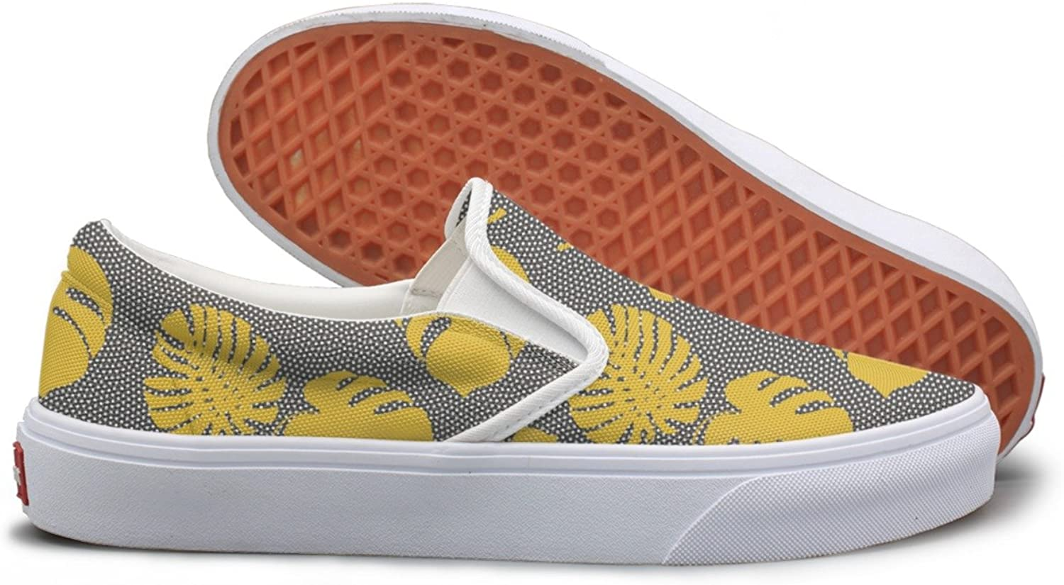 Made From The Monstera Leaves Lightweight Sneakers For Women