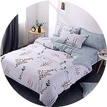 kanyeah Home Beddings 3 Pcs Bedding Set Aloe Cotton 1 Pcs Duvet Cover Quilt Cover+2 Pcs Pillowcase King Queen Full Size 180220/200230/220240,Navy Blue,1 Pillowcase