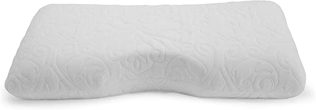 Crown Six-Pack Premium Side-Sleeper Memory Foam Pillow w/Cut-Out PILLOW by THE BED BOSS