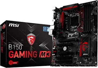 MSI B150 Gaming M3 - Placa Base (zócalo LGA 1151, DDR4-2133,1 x M.2 Solo SATA, 6 x SATA 6 GB/s 1, USB 3.1 y 2.0)