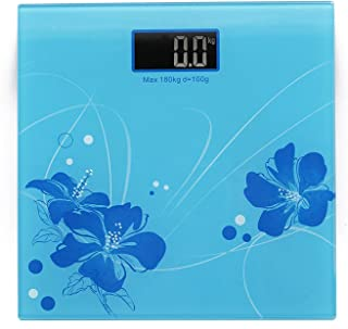 Torix Digital Thick Glass, Tempered Colored Electronic Personal Scale weighing 180 Kg Capacity, Bathroom Home Bedroom Medi...