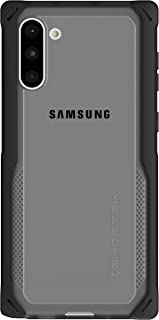 Ghostek Cloak Designed for Galaxy Note 10 Case Military Grade Bumper Phone Cover with Anti-Slip Grip & Wireless Charging Compatible Premium Slim Fit Cases for Samsung Galaxy Note10 (2019) - (Black)