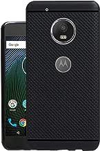 Jkobi® 360* Protection Premium Dotted Designed Soft Rubberised Back Case Cover For Motorola Moto G5 Plus -Black