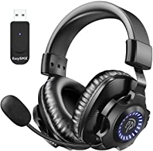 EasySMX 2.4G Wireless Gaming Headset PS5/PS4/PC V07W...