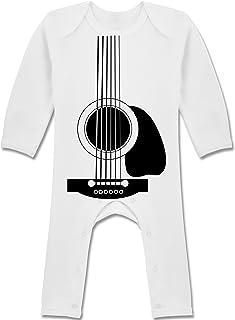 Shirtracer Strampler Motive - Gitarren Body - Baby-Body Langarm für Jungen und Mädchen