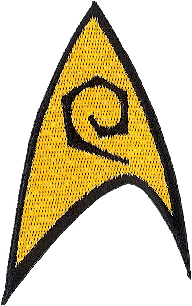 Ata-Boy Star Trek Max Max 75% OFF 52% OFF Engineering Insignia Patch Officially Licensed