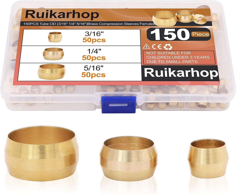 Ruikarhop 150PCS Tube OD(3 16