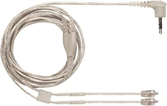 Shure EAC64CLS 64-Inch Clear Detachable Earphone Cable with Silver MMCX Connection for SE846 Earphones