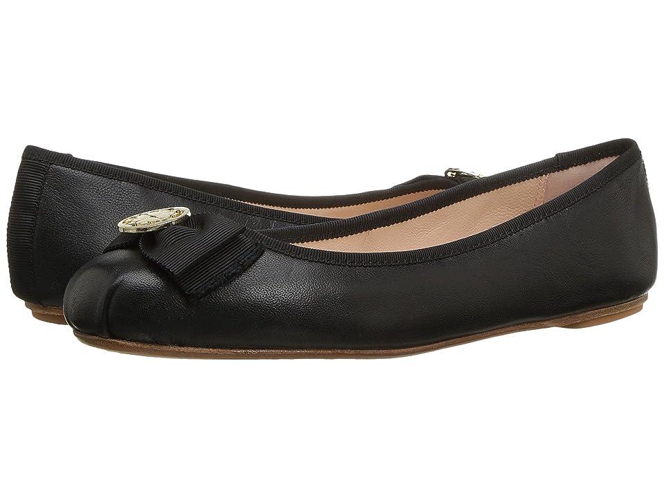 b86fbbbe961d Kate Spade New York Fontana Too (Black Nappa Black Grosgrain) Women s Shoes