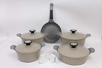 Korean granite pots set 9 pieces
