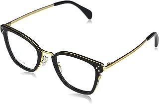 إطار النظارات المعدنية من سيلين CL50002U - 001 أسود داكن / ذهبي 51 مم