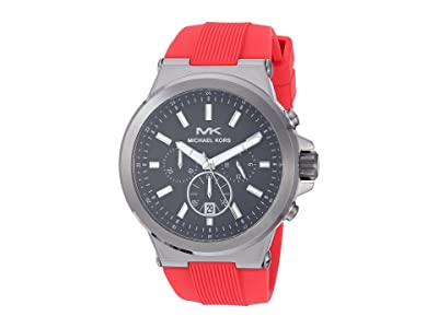 Michael Kors MK8728 Dylan (Red) Watches