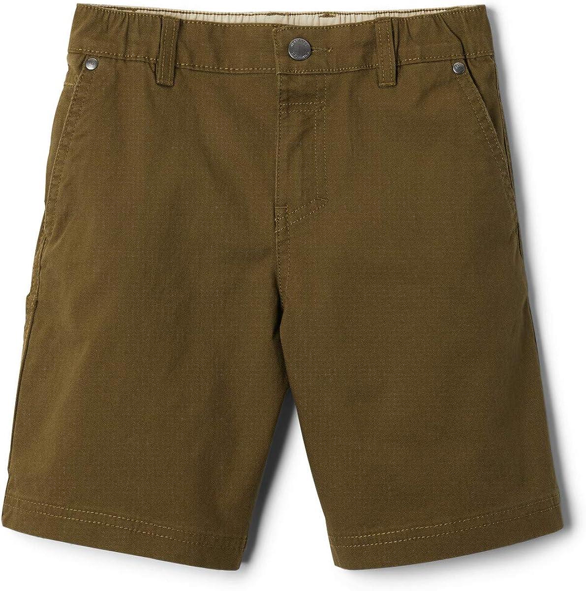 Columbia Boys' Flex ROC Shorts, Comfort Stretch, Cotton Blend