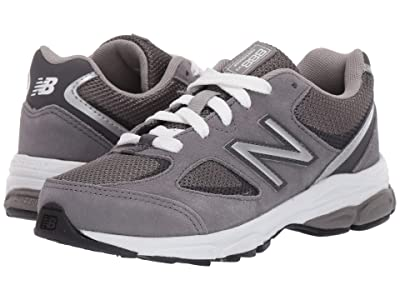 New Balance Kids PK888v2 (Little Kid) (Dark Grey/Grey) Boys Shoes