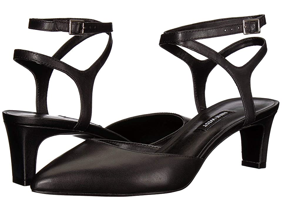 Nine West Abander (Black Leather) Women