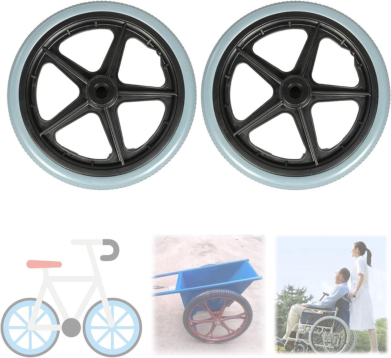 A-bize Gray Manual Wheelchair Rear Wheel, Wheelchair Caster Whee