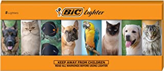 BIC Special Edition Animal Lover Series Lighters, Set of 8 Lighters