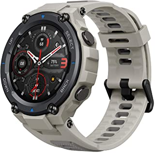 Amazfit T-Rex Pro Smartwatch with Heart Rate, Sleep, Stress Monitoring, SpO2 & Temperature Measurement, Military-Grade Des...