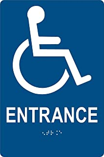 ada compliant bathroom signs