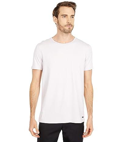 BOSS Hugo Boss Tokks T-Shirt with Sun-Bleached Effect (Dark Pink) Men