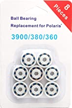 PoolSupplyTown 8 Pack Wheel Ball Bearing Replacement for Polaris 360, 380, 3900 Sport, ATV Pool Cleaners Part No. 9-100-1108