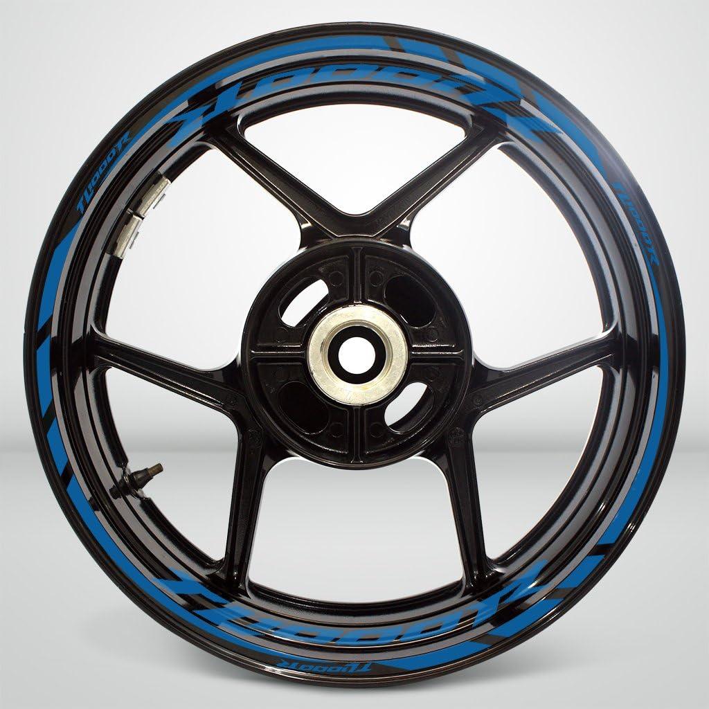 2 Tone Amethyst Motorcycle Rim Wheel Decal Accessory Sticker for Suzuki TL1000R