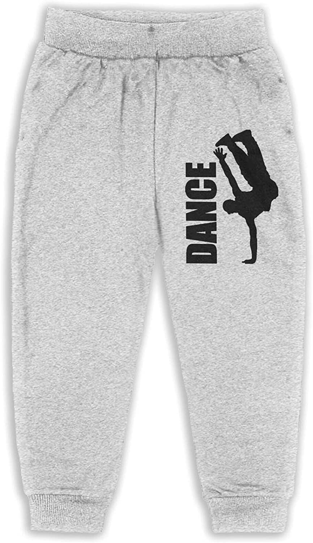 Thtfhe Unisex Kids Hip Hop Breakdance Running Pants Cotton Sport Pants Leisure Pants for Child