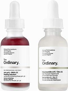 The Ordinary Niacinamide 10% + Zinc 1% (30 ml) & AHA 30% + BHA 2% Peeling Solution 30ml