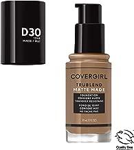 Covergirl Trublend Matte Made Liquid Foundation, D30 Bronze, 1 Fl Oz