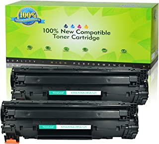 Nineleaf 3 Pack 1,600 Pages Yield Black Compatible Toner Cartridge Replaces CE285A CE285 85A Used for HP Laserjet Pro P1102 Laserjet P1102W P1100 M1212NF MFP M1217NFW MFP MF3010 M1210 M1132 Printer