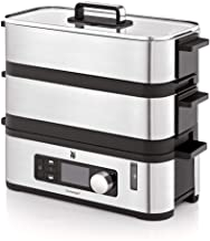 WMF Küchenminis Mini-stoompan, 4,3 l, stoomkoker met geheugenfunctie, warmhoudfunctie, restlooptijdweergave, 2 individueel...