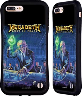 Official Megadeth Rust in Peace Album Cover Key Art Hybrid Case Compatible for iPhone 7 Plus/iPhone 8 Plus