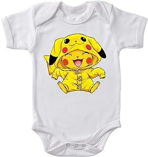 Okiwoki Body bébé Blanc Pokémon parodique Pikachu Cosplayé en. Pikachu ! : Imbattable dans Les Concours de Cosplay. : (Par...