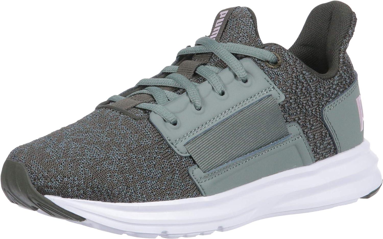 PUMA Womens Enzo Street Knit Interest Sneaker