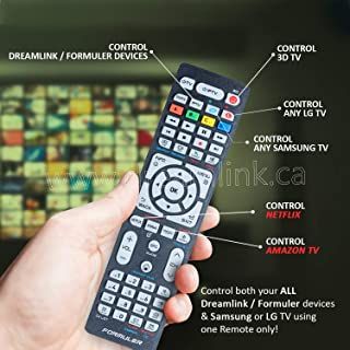 Dreamlink Universal Replacement Remote Control for All Dreamlink ...