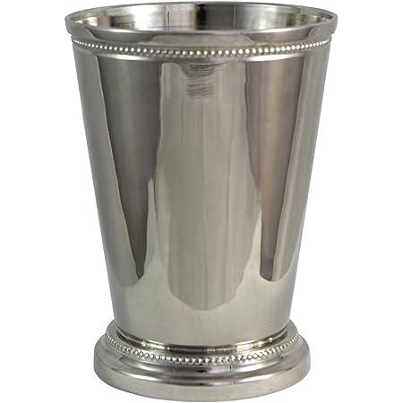 6x Basil Hayden Mint Julep Aluminum Glass Copper Cup BRAND NEW Liquor Alcohol