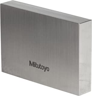 Mitutoyo Steel Rectangular Gage Block, ASME Grade 0, 2.0