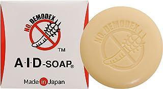 AIDソープ顔ダニ・ニキビダニ対策 100g[顔にも使える全身用石鹸][かゆみ・赤み・ニキビ・吹き出物]