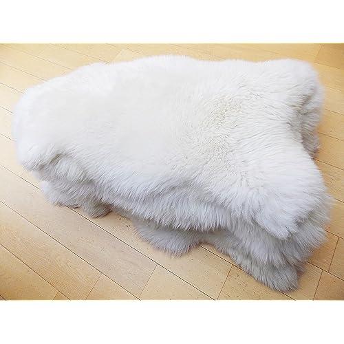 60 90 Cm Soft Fluffy Rugs Anti Skid Shaggy Area Rug Dining: Sheepskin Rugs: Amazon.co.uk