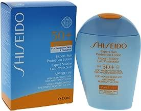 Shiseido Expert Sun Protection Lotion Wetforce for Sensitive Skin and Children SPF 50+ UVA, 3.3 Ounce