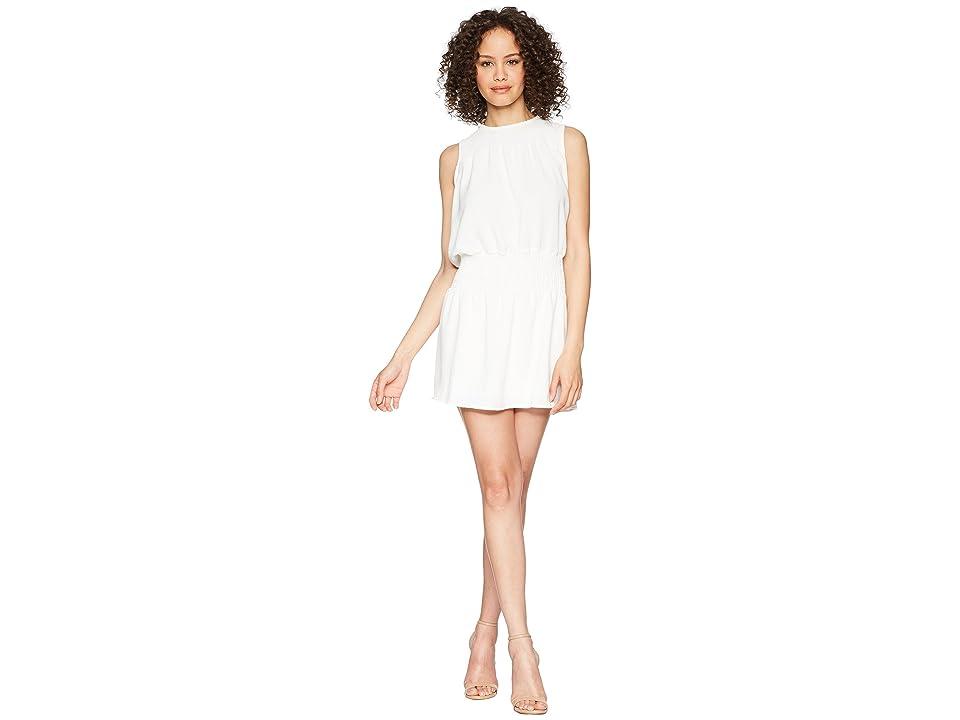 Bishop + Young Smocked Dress (White) Women