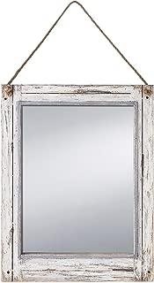 Foreside Home & Garden FMIR06228 Rustic Mirror