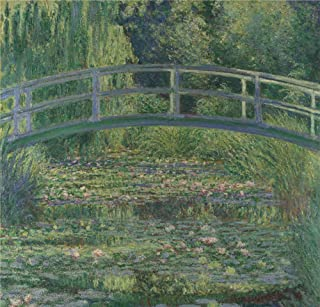 Oil Painting 'Claude-Oscar Monet - The Water-Lily Pond,1899', 16 x 17 inch / 41 x 42 cm , on High Definition HD canvas prints is for Gifts And Gym, Hallway And Laundry Room Decoration