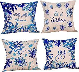 Best blue christmas pillows Reviews
