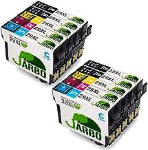JARBO Compatible Epson 29 XL Cartouches d'encre (4 Noir,2 Cyan,2 Magenta,2 Jaune) Compatible avec Epson Expression Home XP-235 XP-332 XP-335 XP-432 XP-435 XP-245 XP-247 XP-442 XP-445 XP-342 XP-345